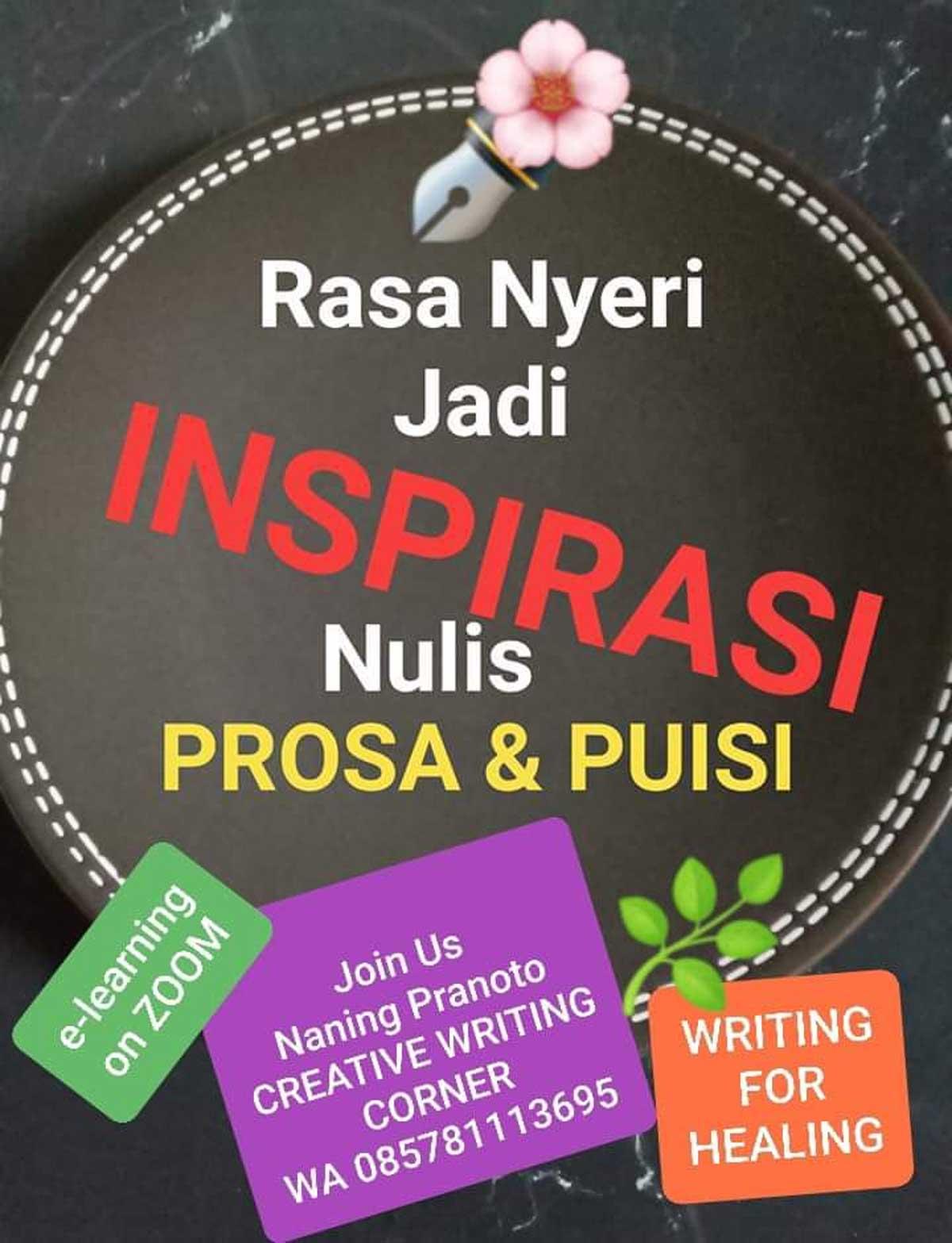 Inspirasi Nulis Prosa dan Puisi